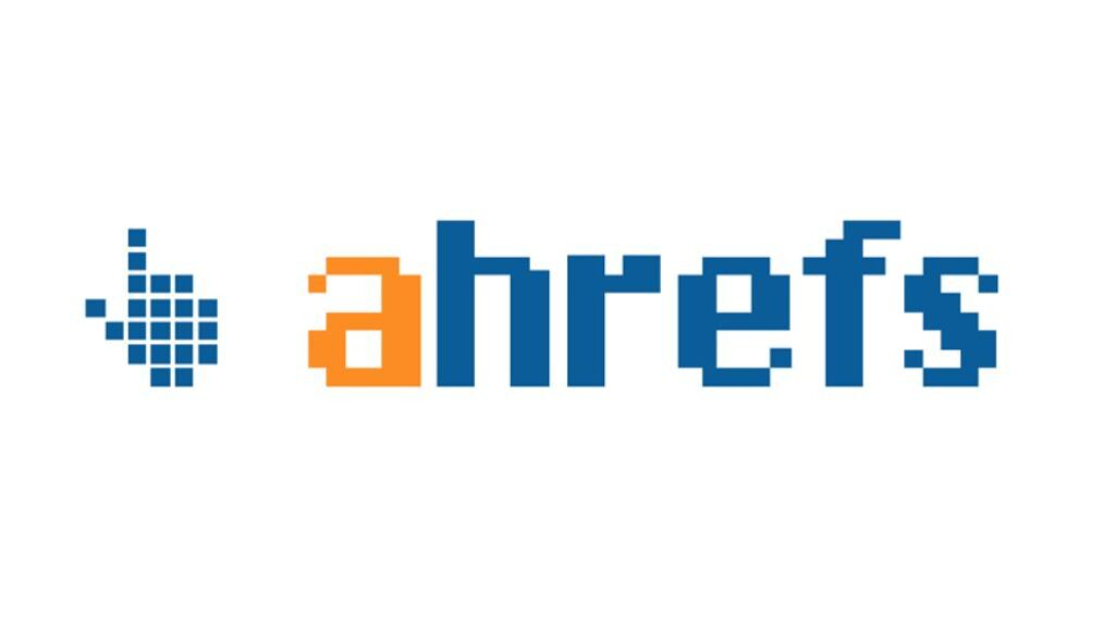ahrefs logo digital marketing tools