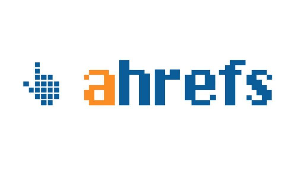 ahrefs logo digital marketing tools